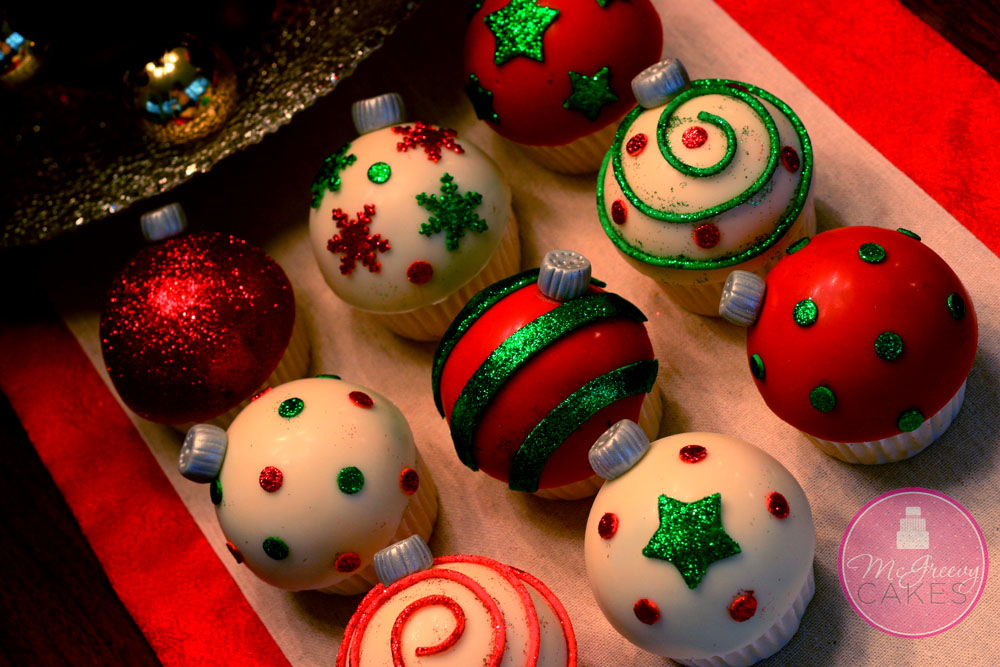 Ornament Cupcakes Tutorial  McGreevy Cakes
