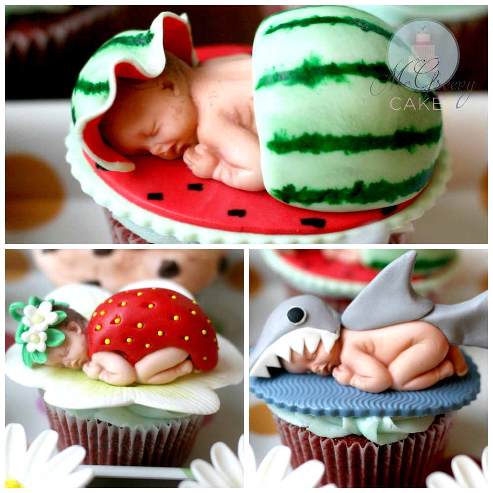 using the baby mold tutorial mcgreevy cakes