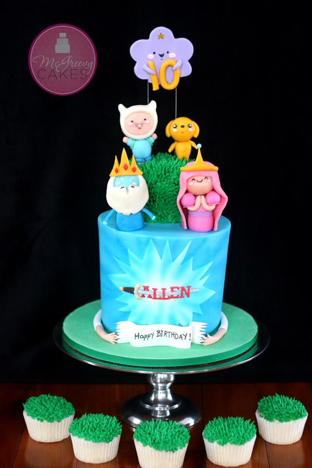Easy Adventure Time Cake Designs Mcgreevy Cakes