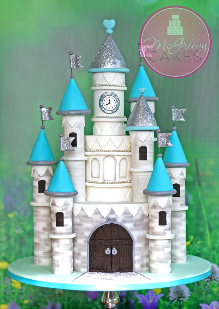 Princess Castle Cake Video Tutorial Mcgreevy Cakes