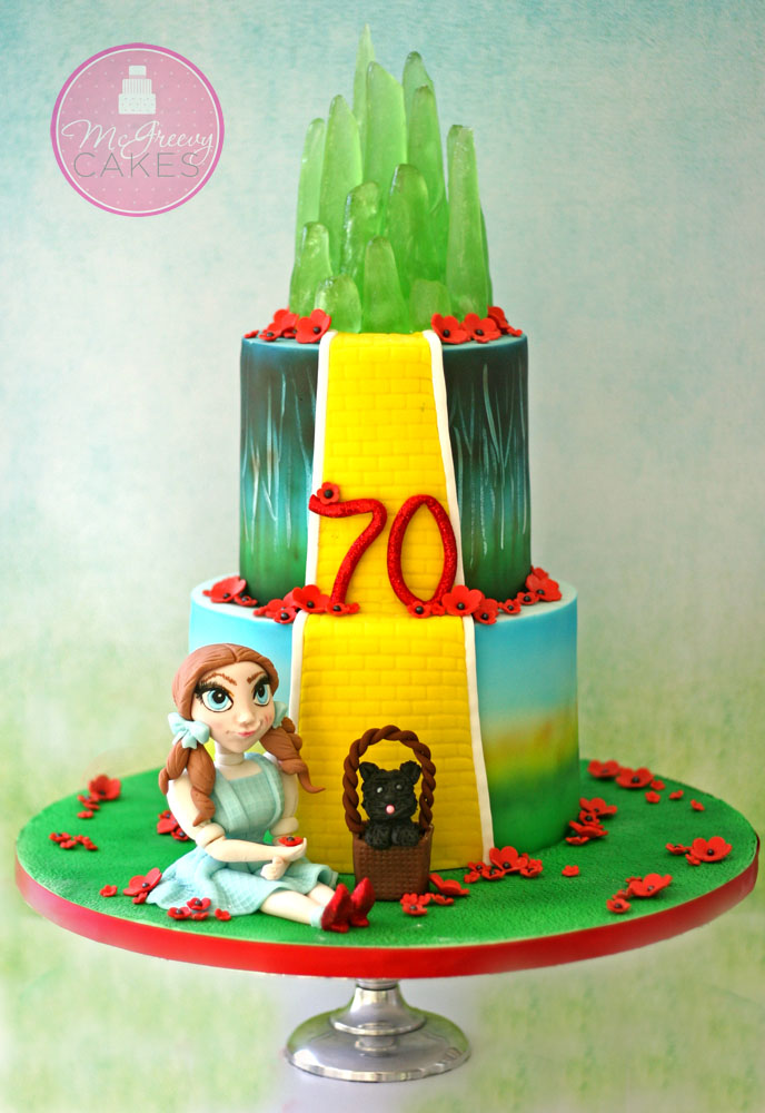 Wizard Of Oz Cake With Progress Pictures Mcgreevy Cakes