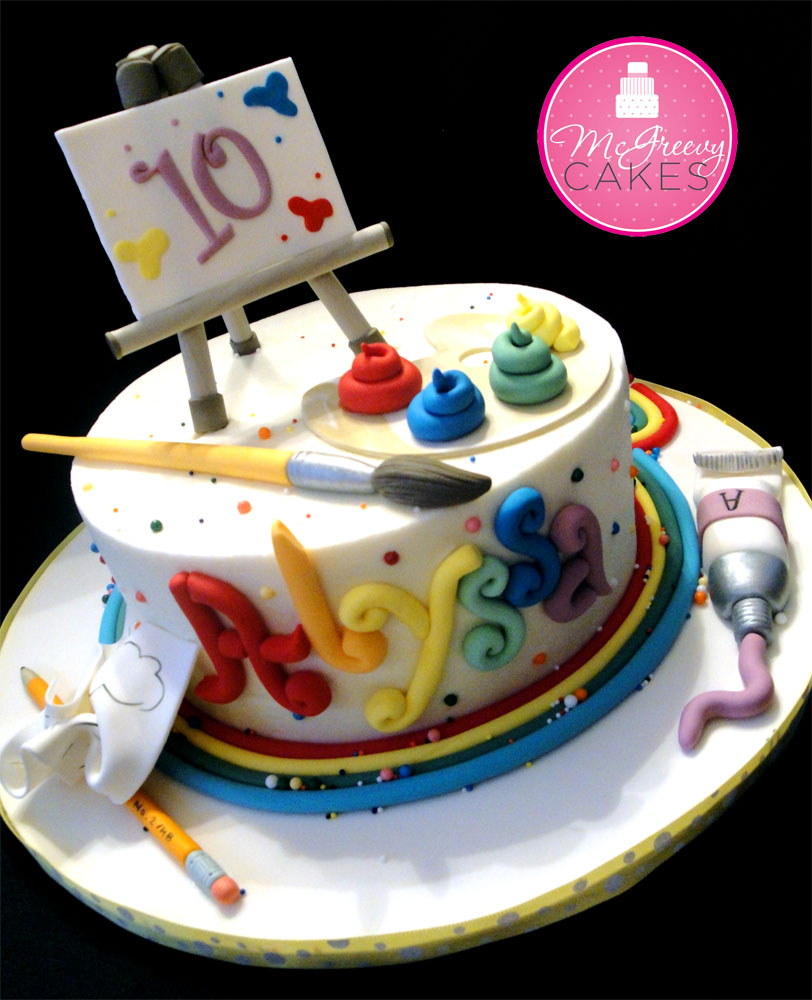 Artistic Cake Design Classes : Smooth Buttercream Finish, Class!! - McGreevy Cakes