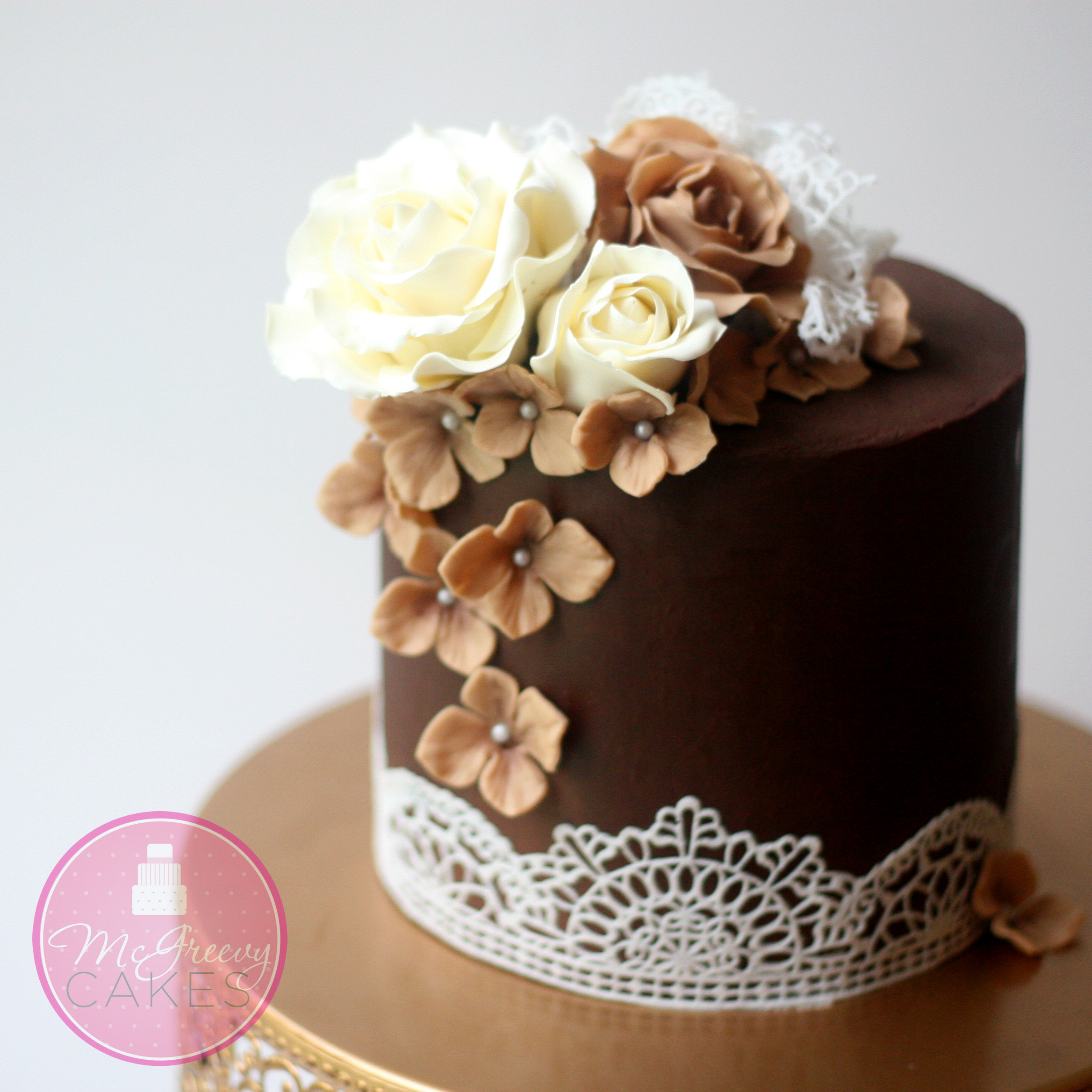 Cake Decor With Ganache : ganache for cake