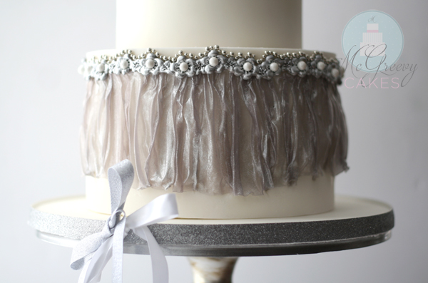 Image result for wafer paper drapes on cake
