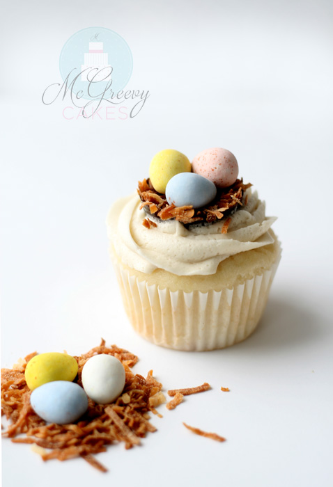 one easter cupcake 1