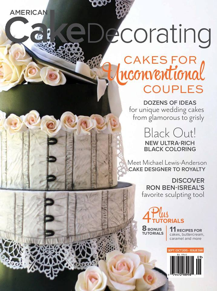 american cake decorating; a supah cool cake magazine! - mcgreevy cakes