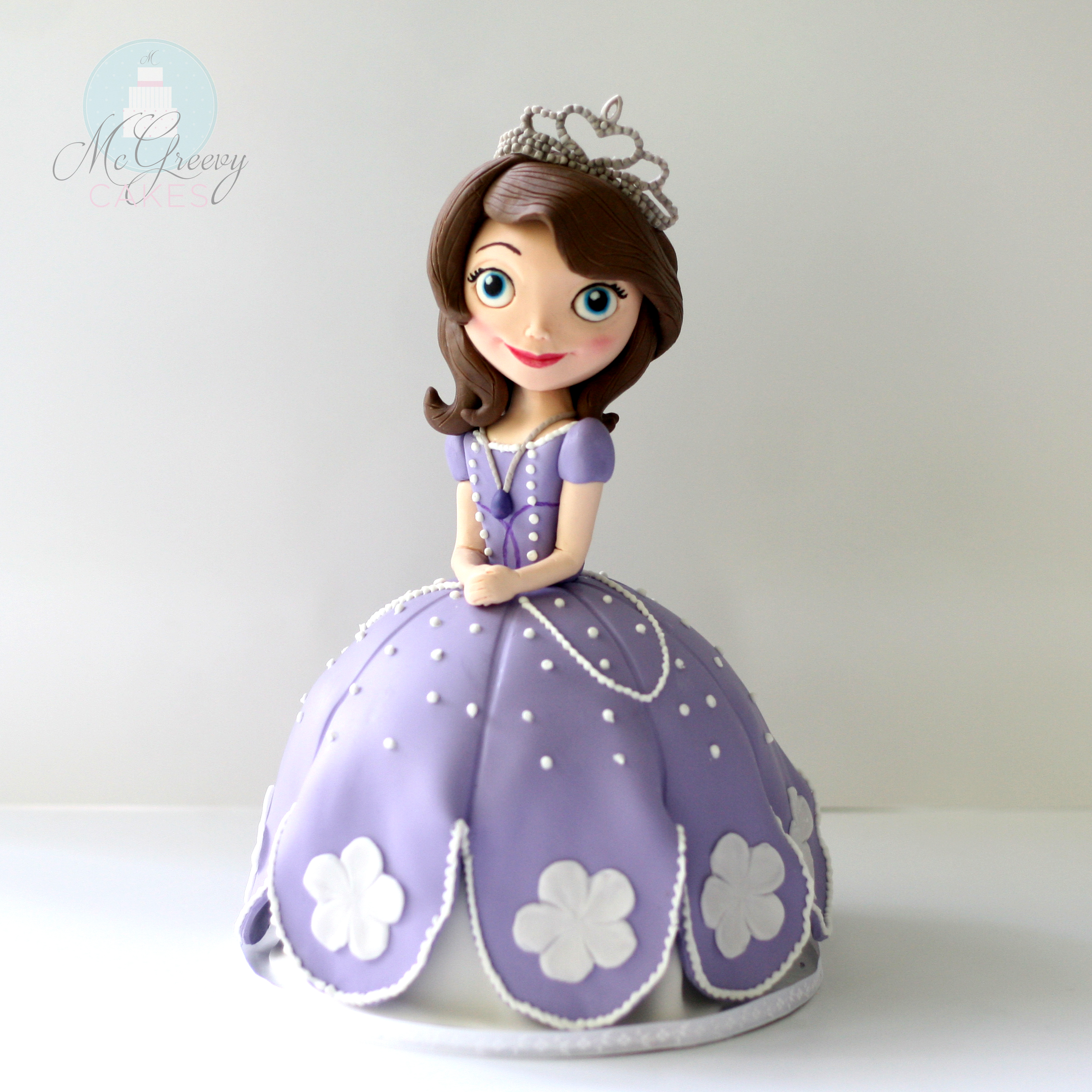 Sofia the First: How to Make a Doll cake (or ANY character ...