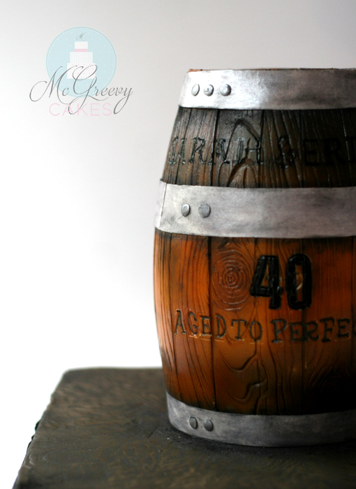 How To Make A Wooden Barrel Cake Mcgreevy Cakes