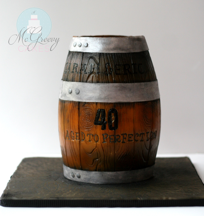 How To Make A Beer Barrel Cake
