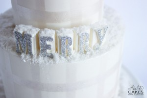 Christmas Cake and Letter Molds Tutorial by Avalon Yarnes