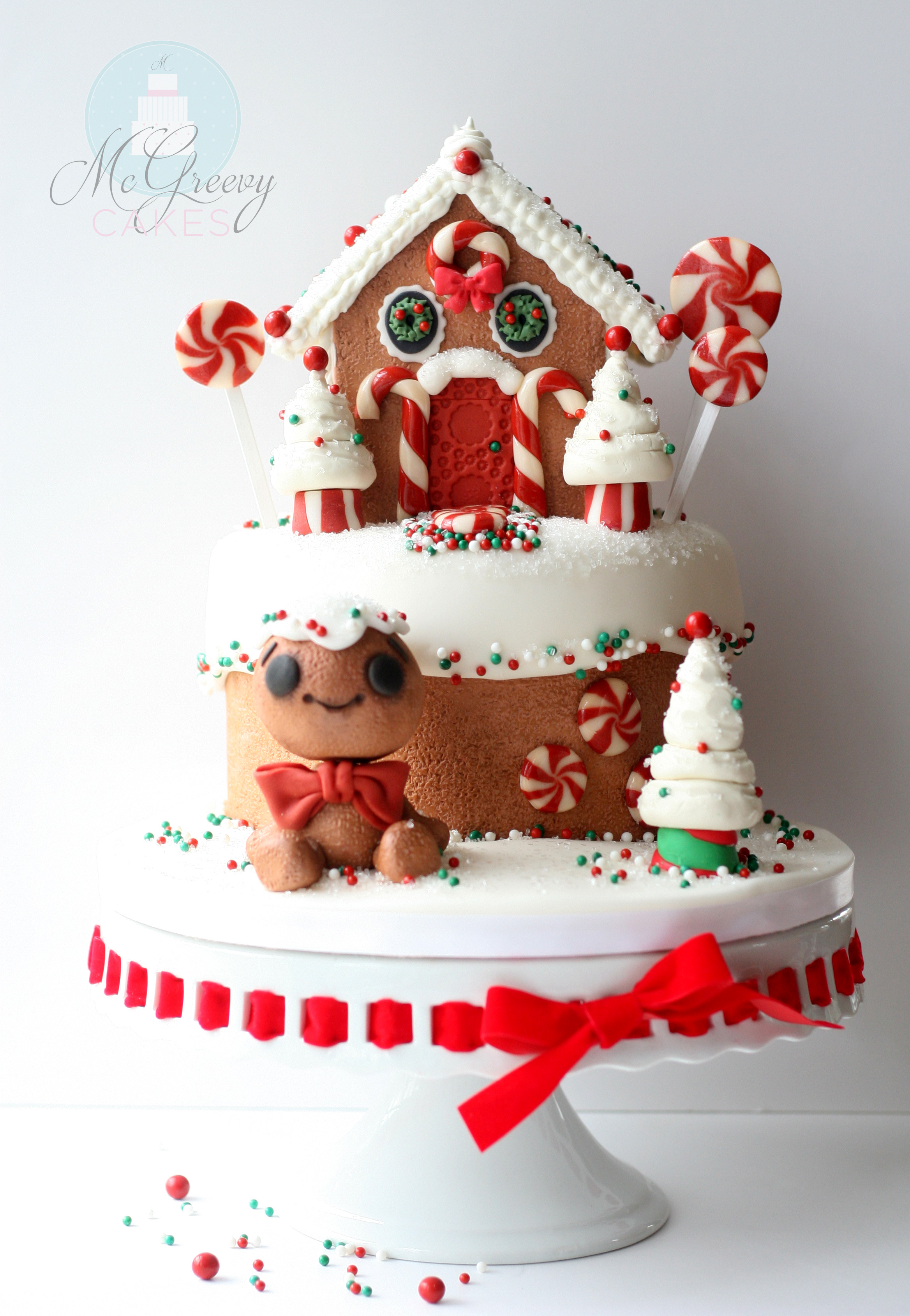 Cake Time Gingerbread House