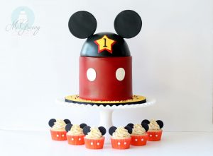 Mickey Mouse 1st Birthday and Smash Cake