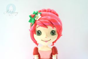 Strawberry Princess Cake