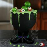 Smoky Cauldron Cake!